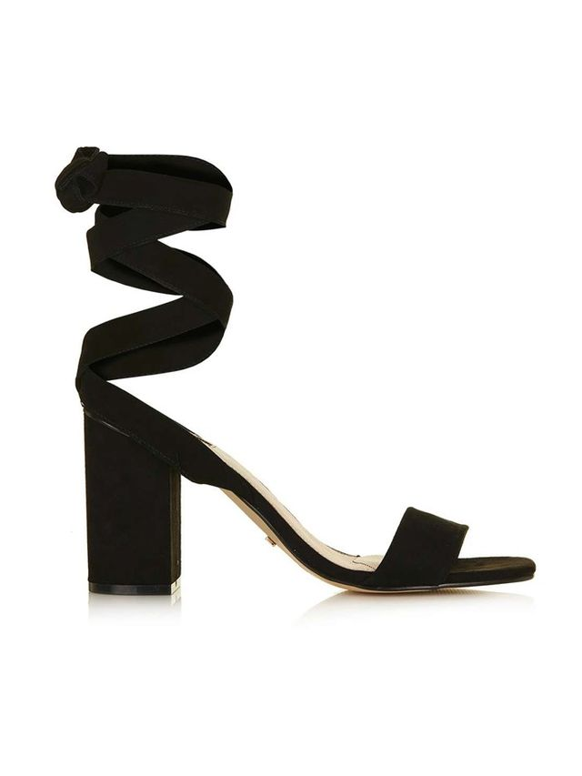 Topshop Rapping Anke-Tie Sandals