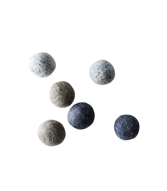 Bog Berry Gray Wool Dryer Balls
