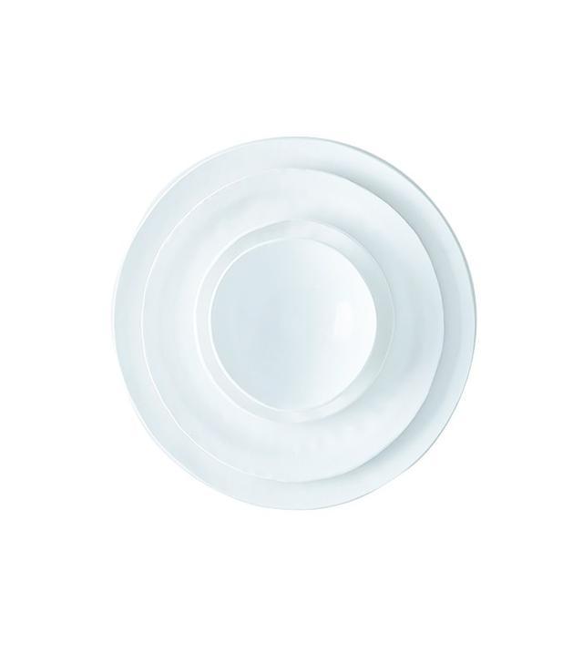 Looks Like White Handmade Porcelain Textural Dinnerware