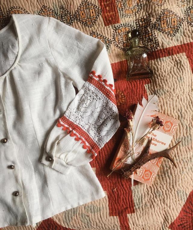 Vintage LA Woman Button Up Shirt