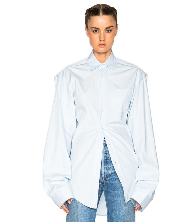 Vetements Button Up Shirt