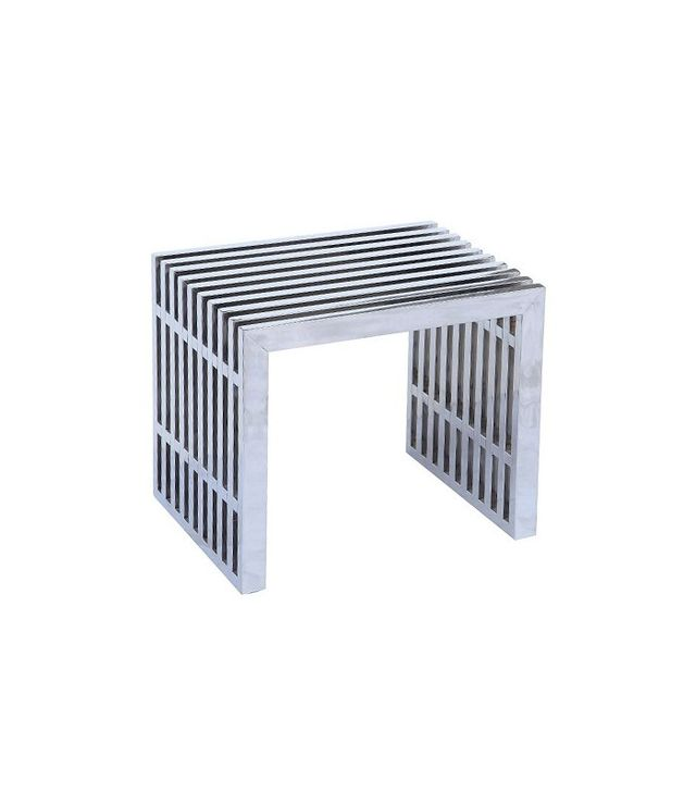 Fine Mod Imports Zeta Stainless Steel Bench Short