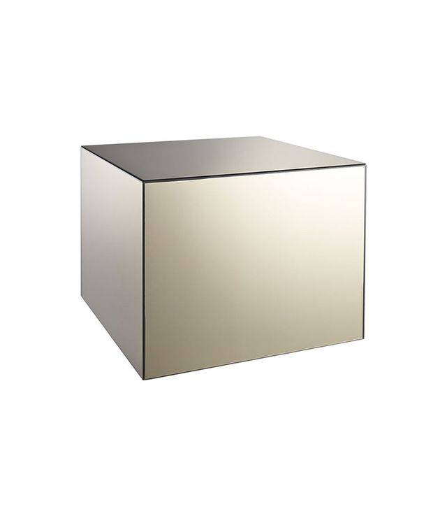 CB2 City Slicker Mirror Side Table