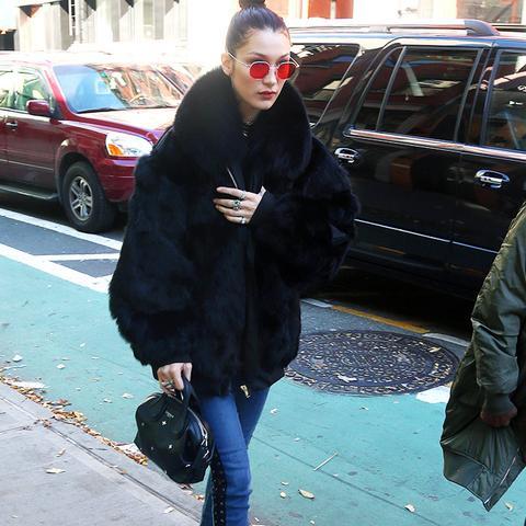 Bella Hadid style: Lady Dior bag