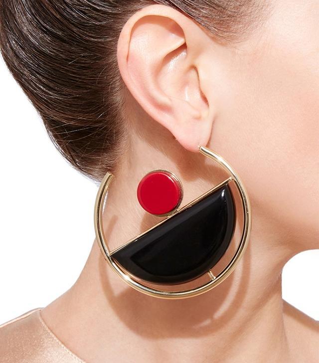 Marni Modernim Hoop Earrings