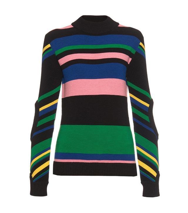 J.W.Anderson Rainbow-Striped Sweater