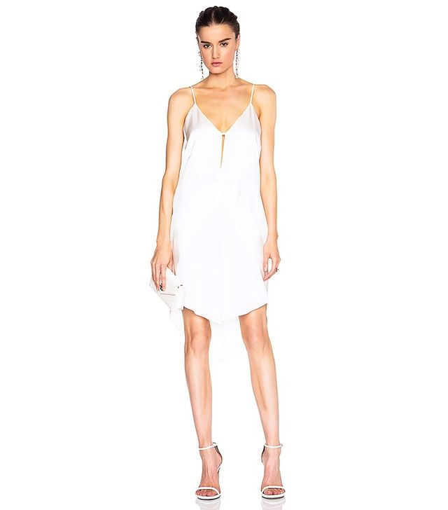 Mason by Michelle Mason Contrast Slip Dress