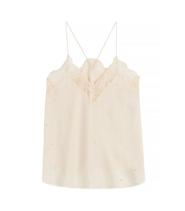 Zadig & Voltaire Lace Silk Camisole
