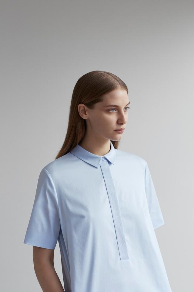 COS Grosgrain Detail Shirt Dress