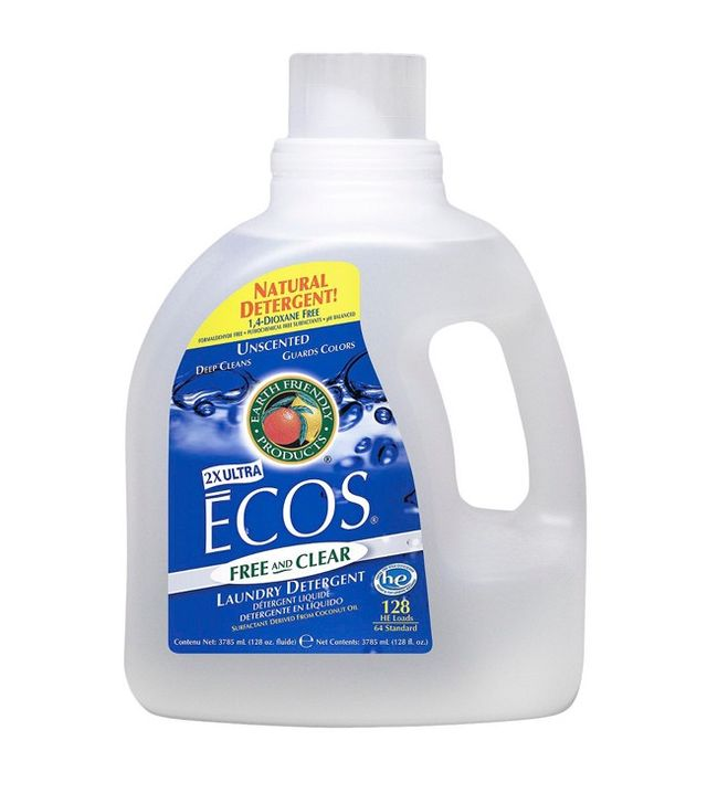 Ecos Free and Clear Natural Liquid Laundry Detergent