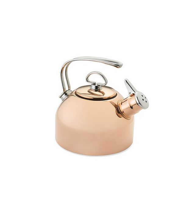 Chantal Copper Whistling Tea Kettle