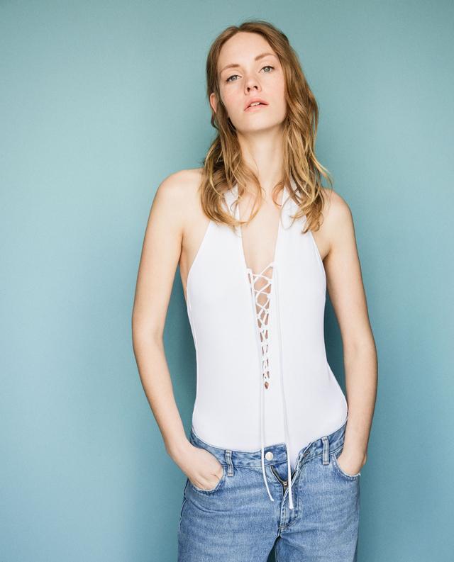 Zara Halter Neck Swimsuit