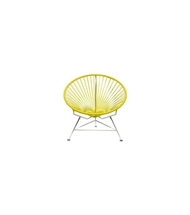 Innit Round Chrome Frame Chair