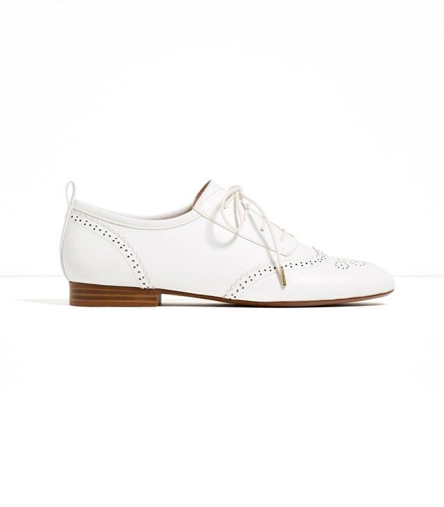 Zara Flat Openwork Shoes