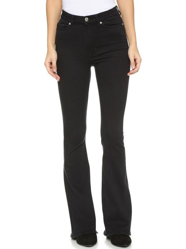 Cheap Monday Flare Snap Jeans