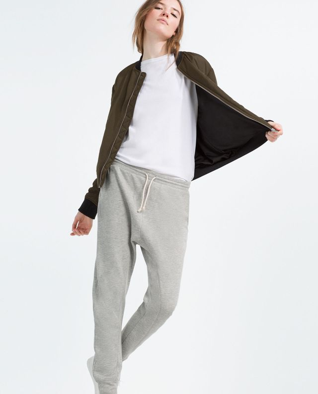 Zara Plush Unisex Jogging Trousers