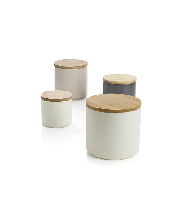 Crate and Barrel Silo Canisters