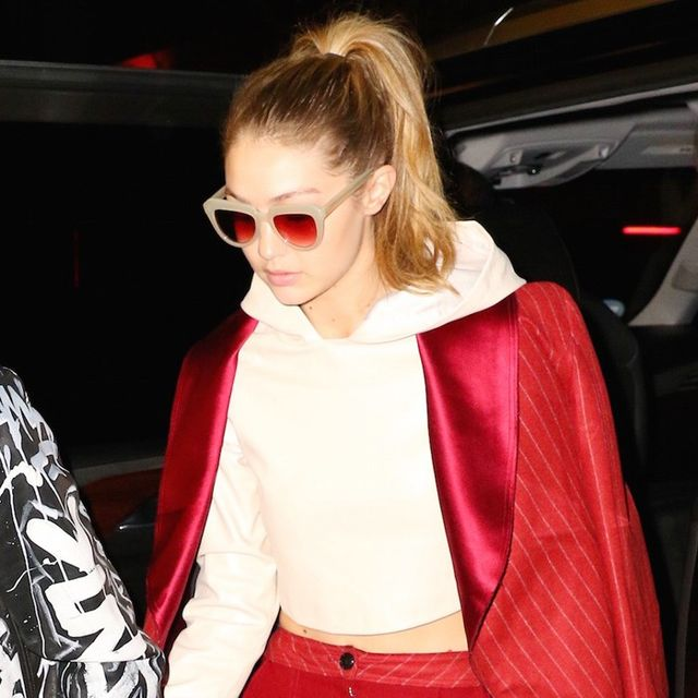 Gigi Hadid Wore the Coolest Sunglasses (and They're Surprisingly Affordable)