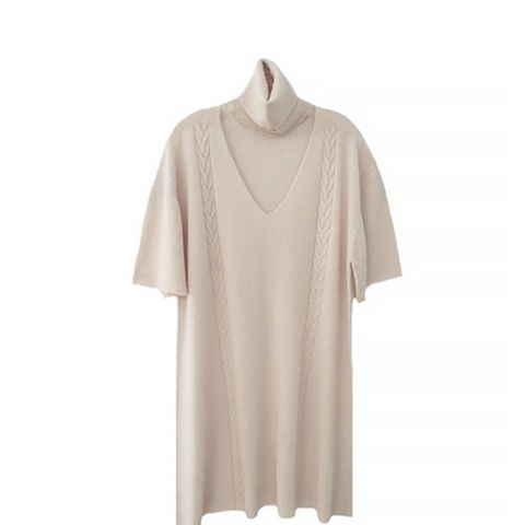 Open Turtleneck Tunic