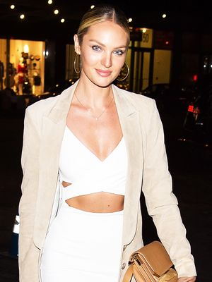Candice Swanepoel Avoids These Foods Before a Photo Shoot