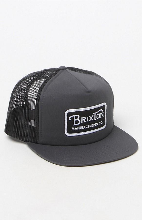 Brixton Grade Trucker Snapback Hat