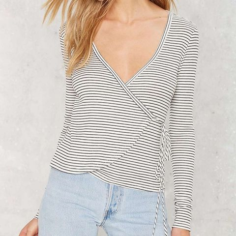 Down Tonight Wrap Top