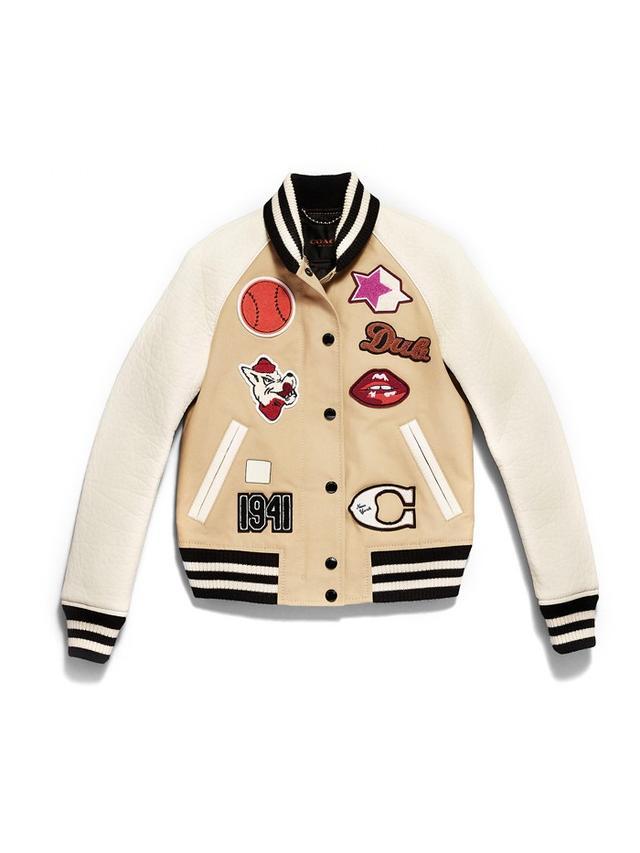 Coach Cotton Varsity Jacket