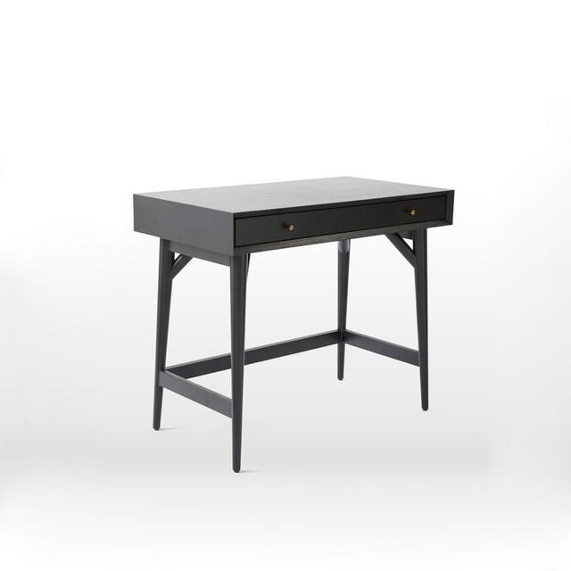 West Elm Mid-Century Mini Desk – Black