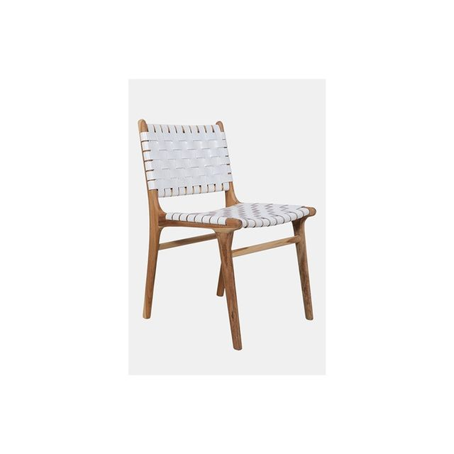 Fenton & Fenton Leather STrapping Dining Chair