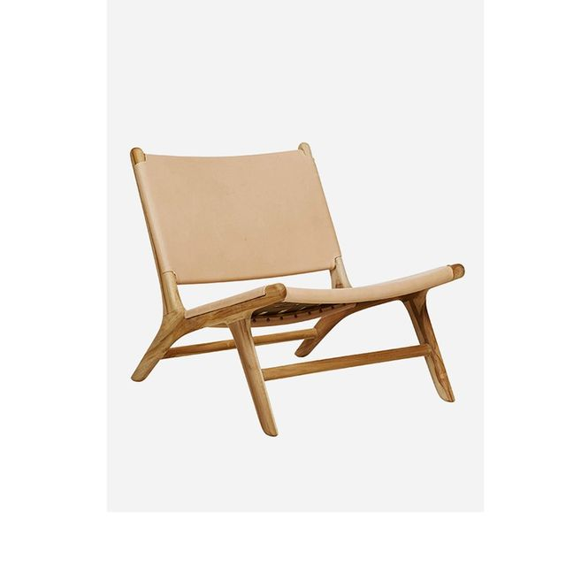 Fenton & Fenton Leather Chair