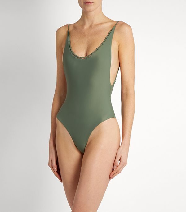 Jade Swim Chain Reaction Swimsuit