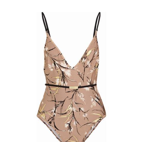 Gossamer Printed Swimsuit