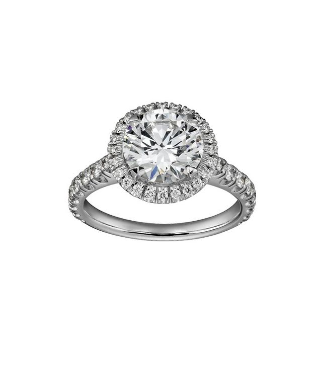 Cartier Solitaire Engagement Ring