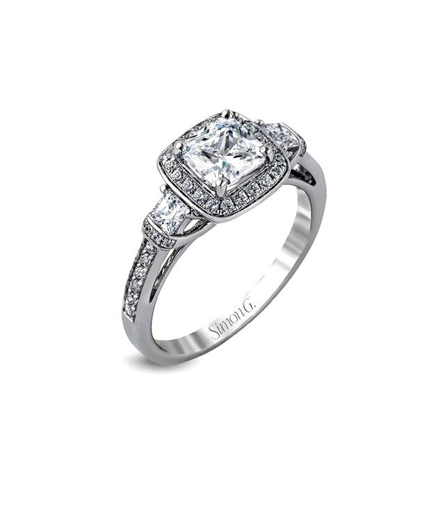 Simon G. MR1518-D Engagement Ring