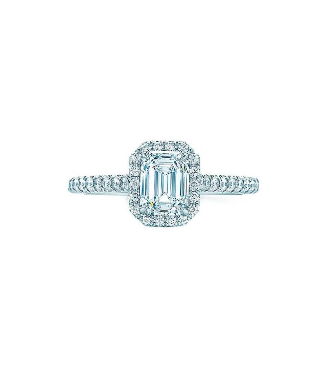 Tiffany & Co. Tiffany Soleste Emerald Cut Ring