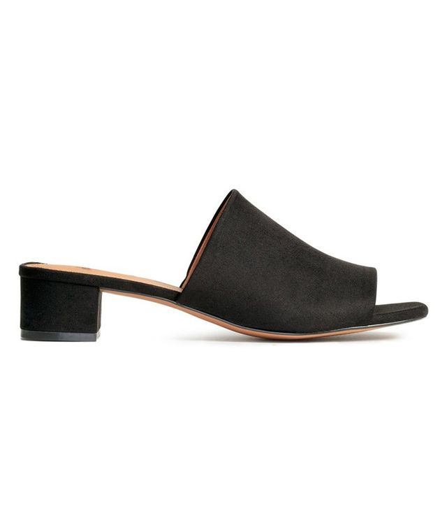 H&M Mules with Block Heels