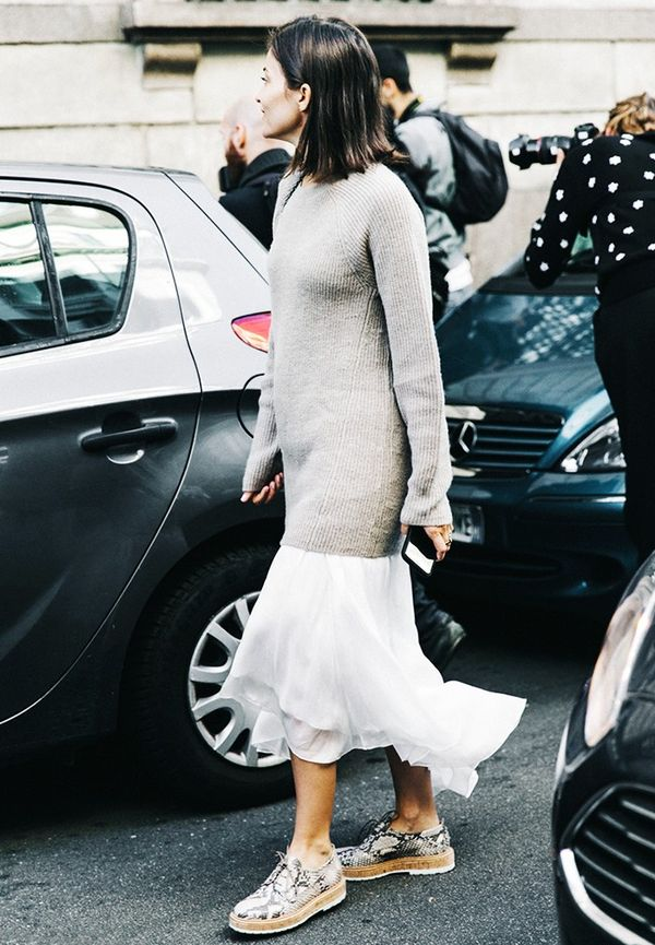 Sweater + Dress
