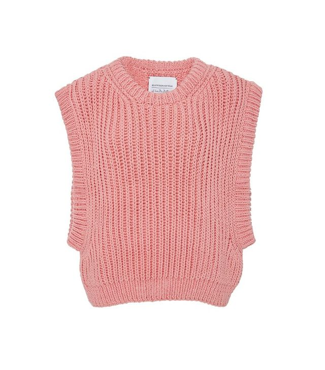 I Love Mr. Mittens Sleeveless Knit Top