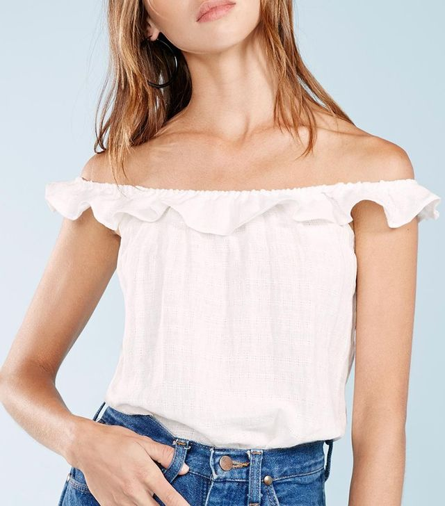 Reformation Scarlett Top