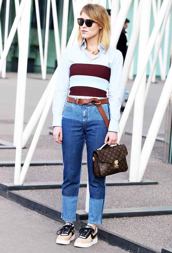 On Annabel Rosendhal: Louis Vuitton bag.