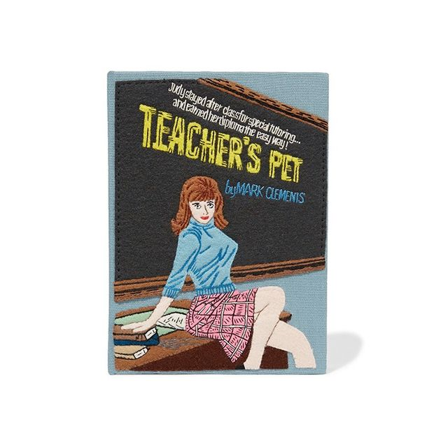Olympia Le-Tan Teacher's Pet Embroidered Clutch