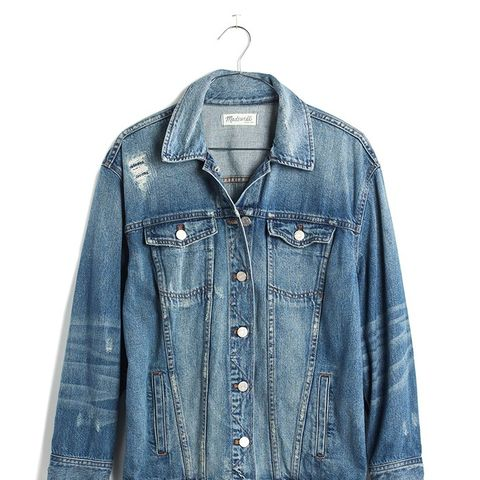 The Oversized Jean Jacket