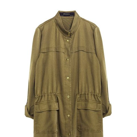 Safari Jacket With Pockets
