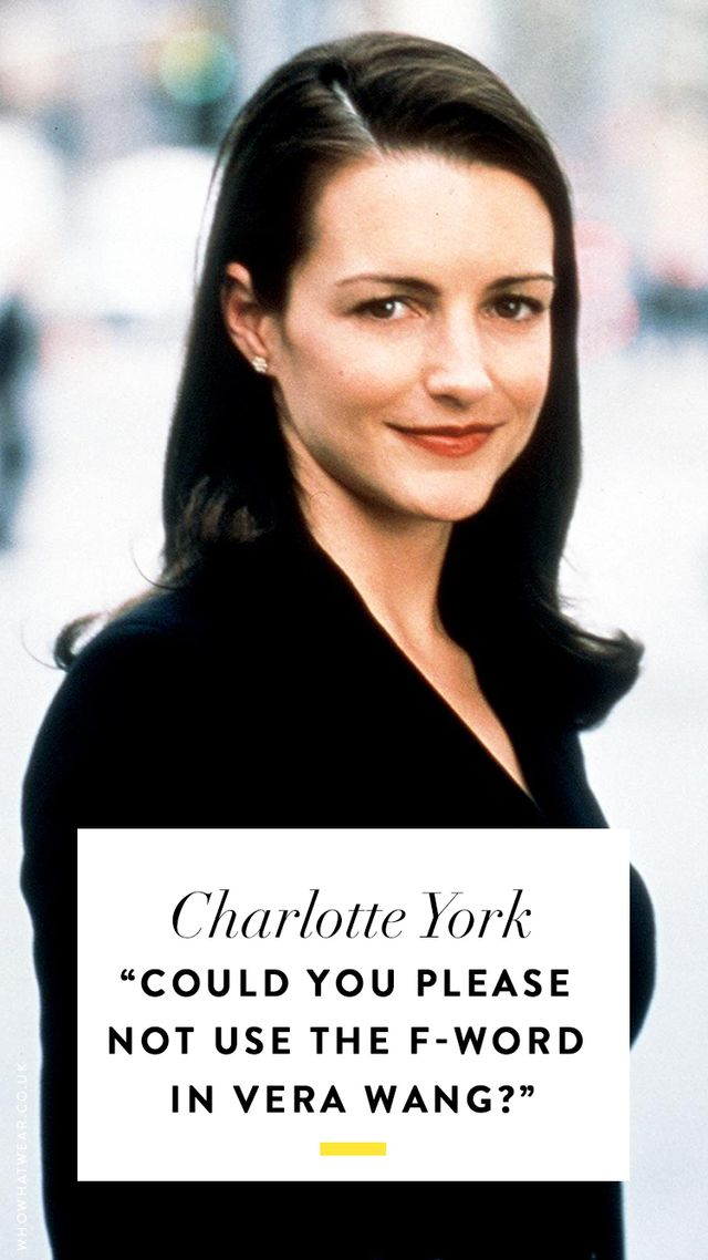 Sex and the city quotes: Charlotte York