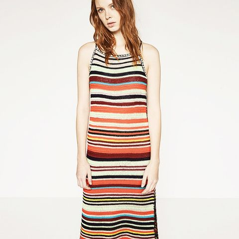 Multicolored Crochet Dress
