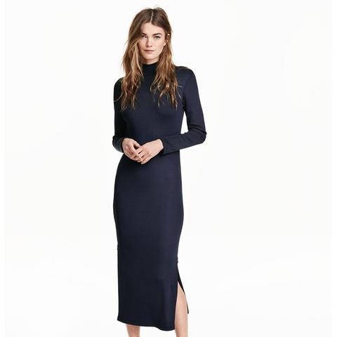 Ribbed Dress