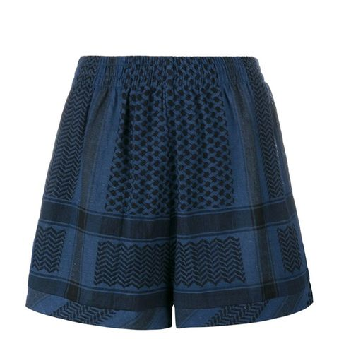 Keffiyeh Printed Shorts