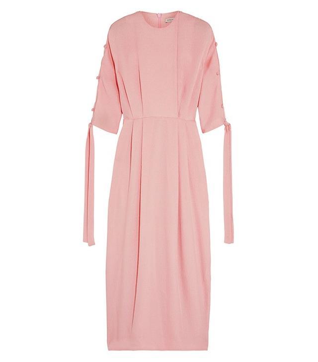 Emilia Wickstead Nina Silk Cloqué Midi Dress