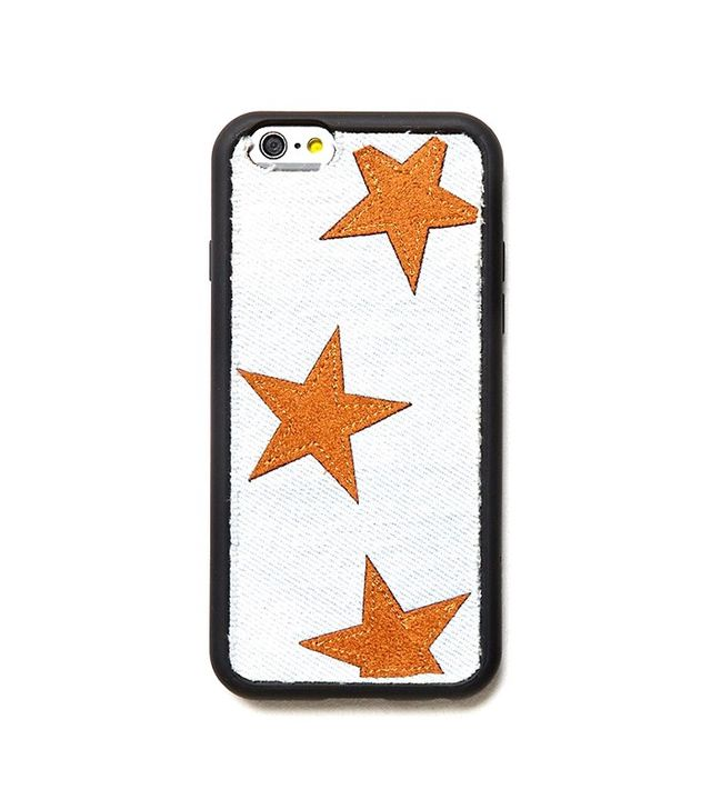Wildflower x Free People Denim X Leather Star Case