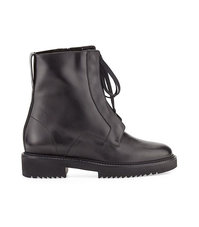 Vince Connelly Leather Combat Boots
